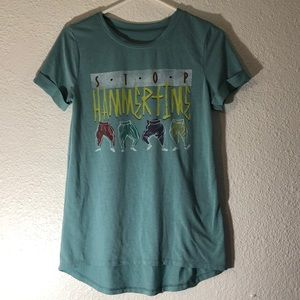red label Tops - Stop! Hammertime tee
